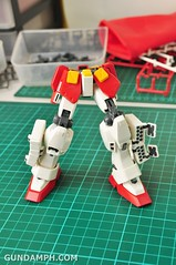 MG 1-100 Gundam HeavyArms EW Unboxing OOTB Review (48)