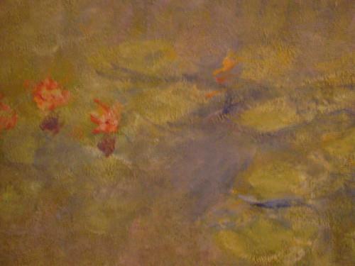 Water-Lilies - Claude Monet (detail)