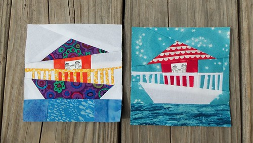Houseboat blocks! by ruthiequilts
