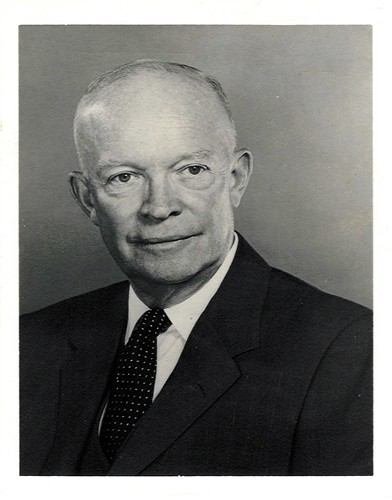 1957 - President Dwight D. Eisenhower
