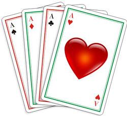 empat kartu as