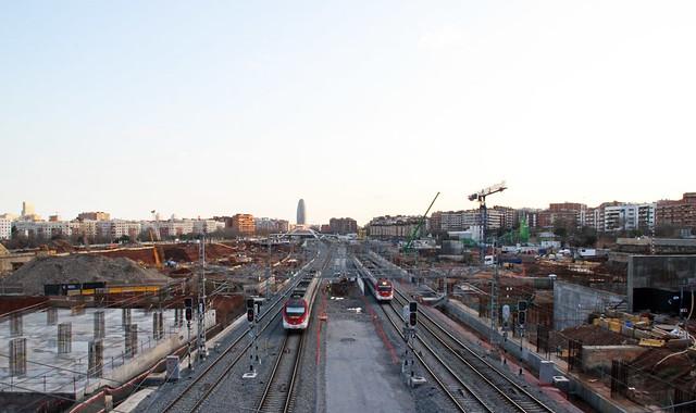 Zona del antiguo puente del trabajo