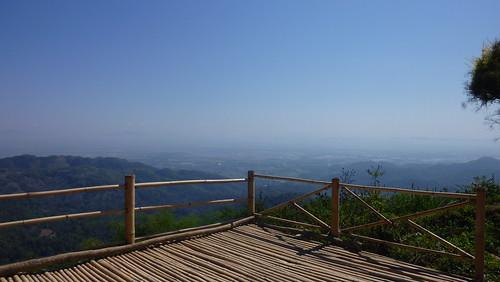 Paysage depuis le Doi Tung