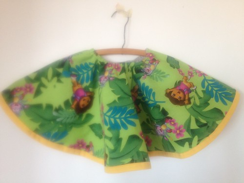 Reversible Circle Skirt ~ side 2