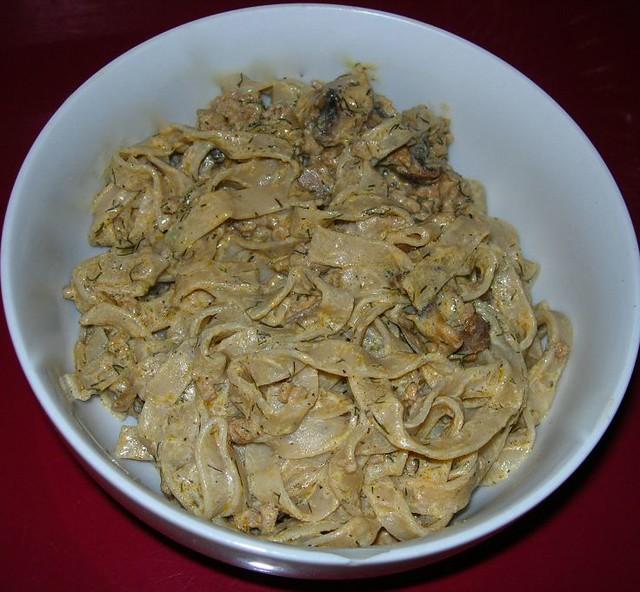 Hungarian Mushroom Noodles