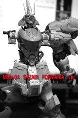 GMG 1-100 Sazabi Formania Version Conversion kit (5)
