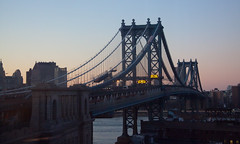 Manhattan Bridge at Magic Hour - Brooklyn, NYC