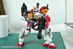 MG 1-100 Gundam HeavyArms EW Unboxing OOTB Review (73)
