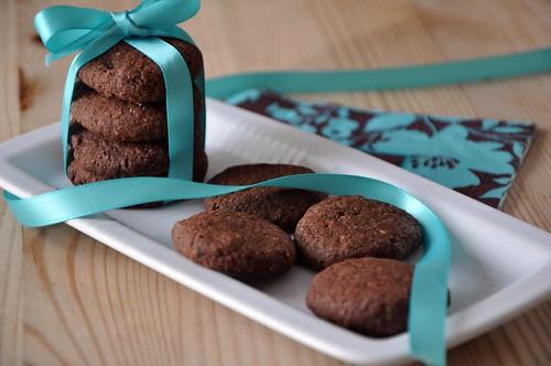 Cocoa Mint sugar cookies