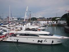 Amadeus, Boat Asia 2012, Marina @ Keppel Bay