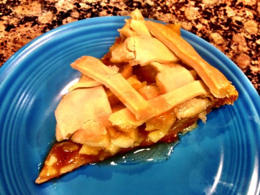 Pi Day Apple Pie verdict: Awesome! :)