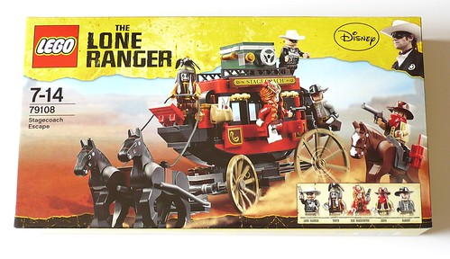 The Lone Ranger 79108 Stagecoach Escape box01