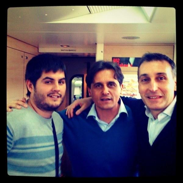 Pau, Jimmy Pons y Jorge Monje