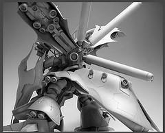 Resin Kit 1100 Nightingale  Neograde Refined Version Built (15)