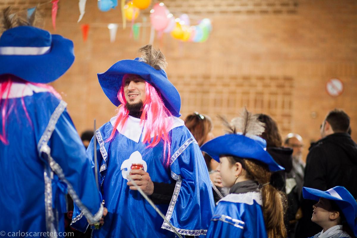 Carnaval en un colegio del barrio de San José