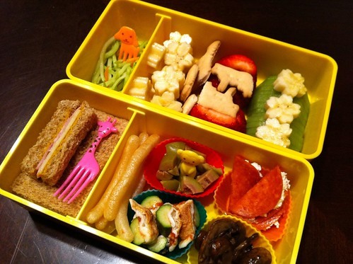 3.8.12 bento: an antipasto and sweet fruit exploration