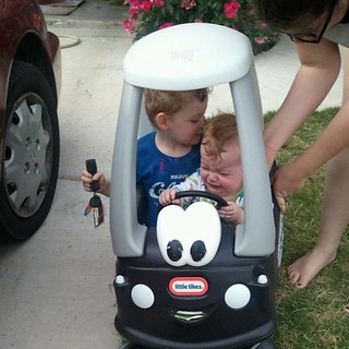Bubba get out of my car.
