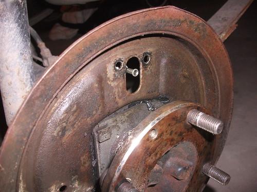 brake cylinder off