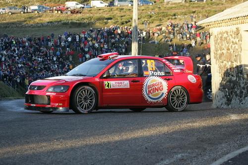 Mitsubishi Lancer WRC - Montecarlo 2007