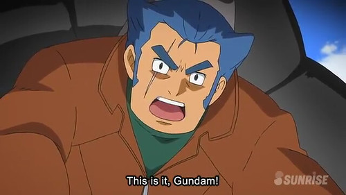 Gundam AGE Episode 17  Friendship and Love and Mobile Suits Youtube Gundam PH (20)