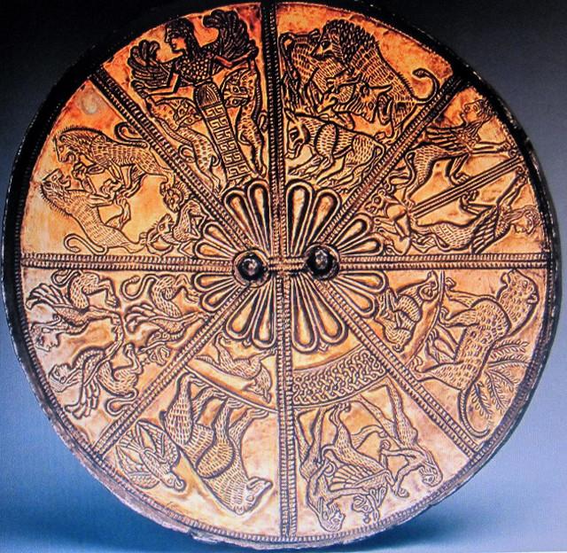 Kelermes mirror, 650-620 BC, Hermitage Museum, St Petersburg