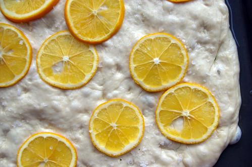 Meyer Lemon Focaccia II