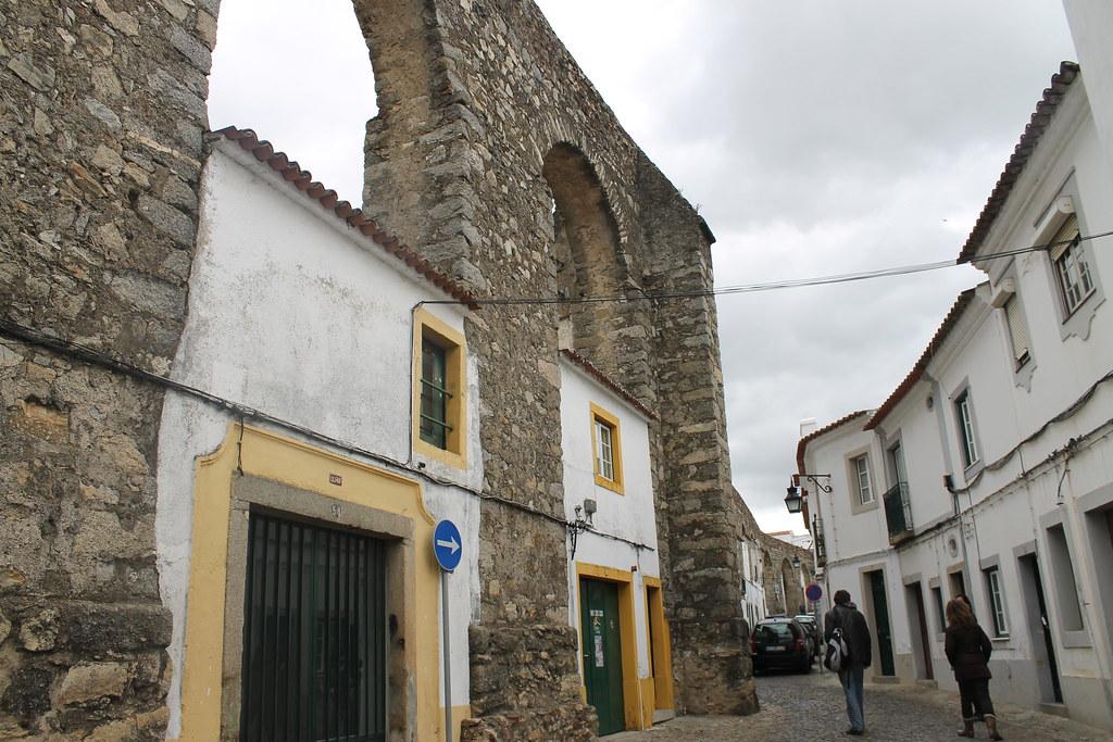 Callejuelas con encanto en Évora