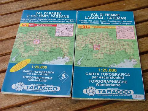Cartine Kompas-Tabacchi