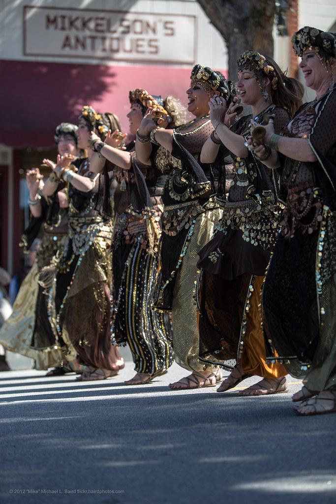 Belly Dancers as Troupe Benat Serat