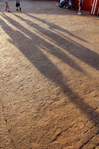 Ground footprints - Storybook Circus