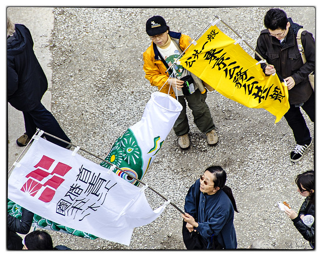 Chinese Delegation - May Day 2012