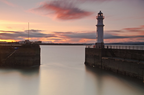 Newhaven Sunset 18 March 2012