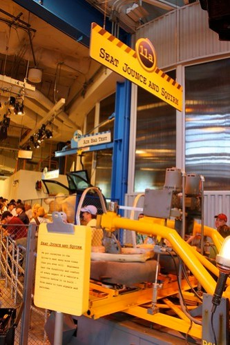 Queue - Test Track at Epcot