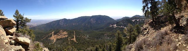 Picture from St. Peters Dome Outside of Colorado Springs