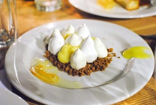 Lemon Meringue, Poppy Seed Crumble, Extra Virgin Olive Oil