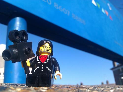 Twickenham Film Studios - John Landis LEGO minifig