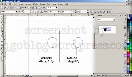 Mengenal Fasilitas Shaping Pada Corel Draw5