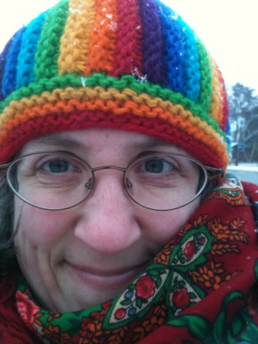 Pic of the day - First Time This Winter I've Worn a Hat