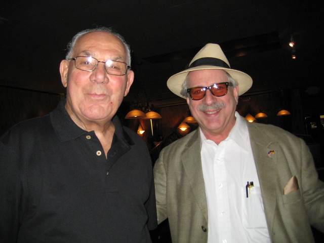 Lou Colombo and Jon Hammond in Fort Myers Florida - rest in peace Lou