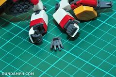 MG 1-100 Gundam HeavyArms EW Unboxing OOTB Review (29)