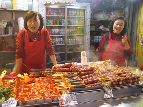 TDC36: Street vendor, Myungdong shopping district, Seoul