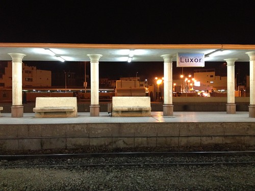 夜のルクソール駅 by k.t.0505