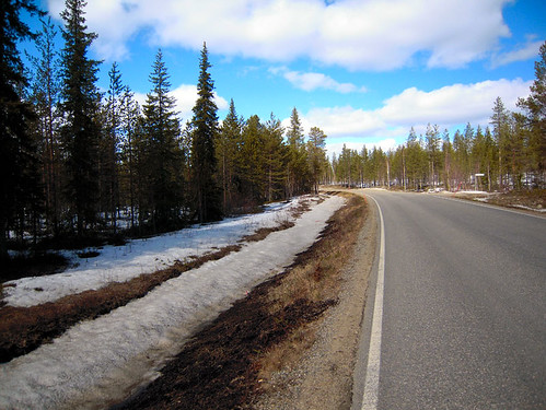 Spring is coming, Lapland