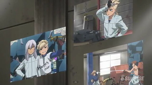 Gundam AGE Episode 18  Battle at the Graduation Ceremony Screenshots Youtube Gundam PH (8)