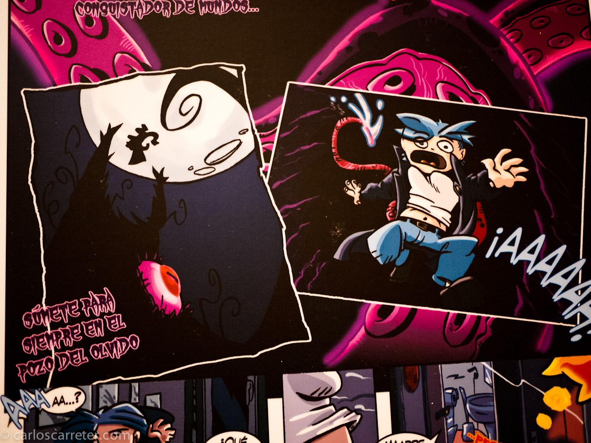 Comic de Diego Burdío Román