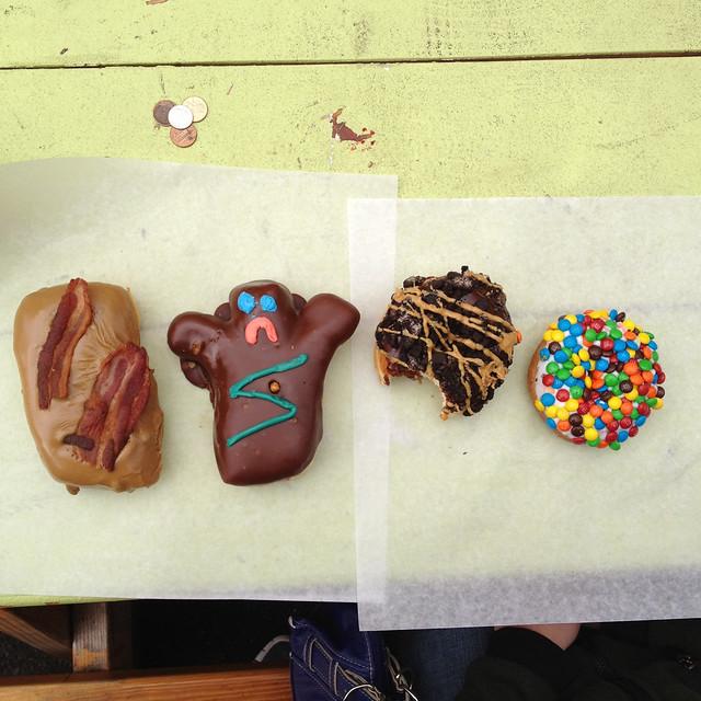 At Voodoo Doughnuts in Portland