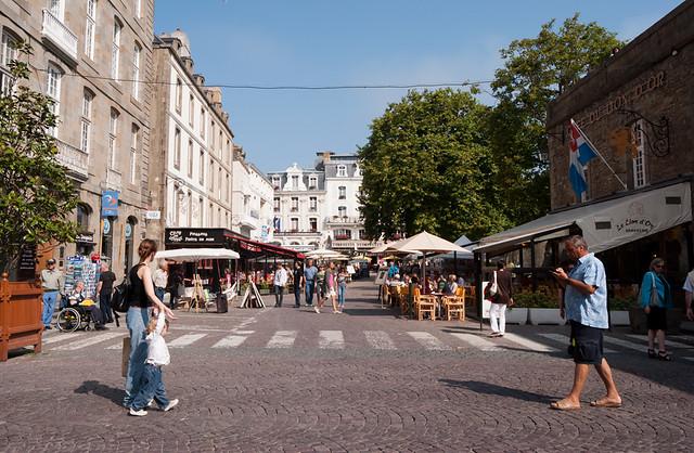 Las calles de Saint Maló
