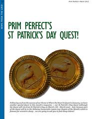 Prim Perfect Issue 40: Quest!