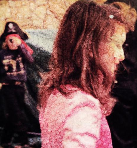 the princess and the pirate by Rossella Sferlazzo
