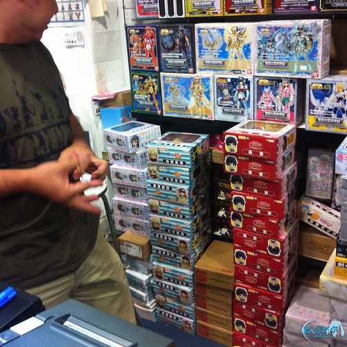 The new Nendoroid boxes that had just arrived